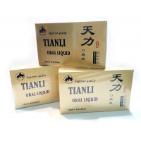 Tianli Oral Liquid  Original Golden Cap 3 boxes